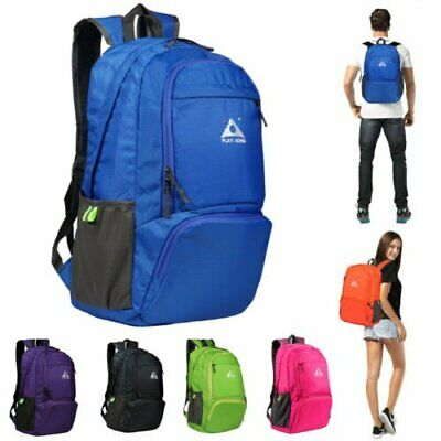 Foldable Sports Backpack Camping Hiking Travel School Bag Waterproof Outdoor