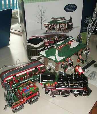 Dept 56 Snow Village Home for the Holidays Express Gift Set Please Read!
