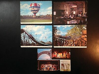 0247 5 Postcard lot, Welcome to Carowinds, North, South Carolina, good condition