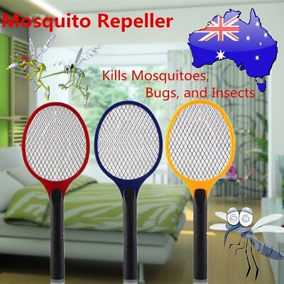 Electric Practical Insect Bug Fly Mosquito Zapper Swatter Killer Racket new P3