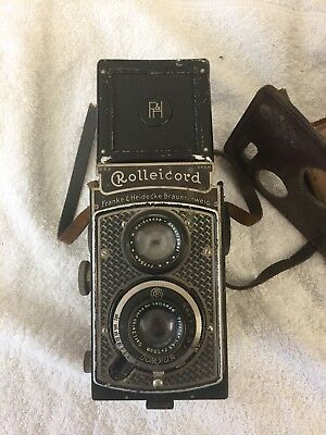 A Rolleicord Twin Lens Camera