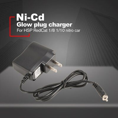 Glow Plug Igniter 1.2V 1800mAh Battery Charger for Nitro 1/8 1/10 RC Car WY