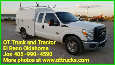 2011 Ford F-250 F250 2wd Extended Cab 8ft KUV Service Utility Bed 6.7L Super Cab