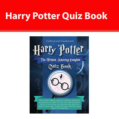 Harry Potter Quiz Book The Ultimate Amazing Complete 9781912511686 paperback NEW