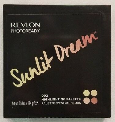 Revlon PhotoReady Sunlit Dream 002 Highlighting Palette ~ All Skin Tones ~ New