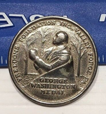 Boy Scouts BSA George Washington Medal Coin Token 1952 Get out The Vote Campaign