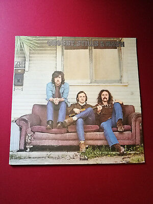 Crosby Stills & Nash Self-Titled Debut TRANSITIONAL DOUBLE MATRIX + INSERT