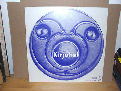 Kirjuhel - Les Questions  Vinyl-LP with two inserts french folk Trikont