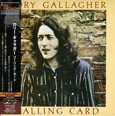 RORY GALLAGHER Calling Card JAPAN CD BVCM-37885 2007 OBI