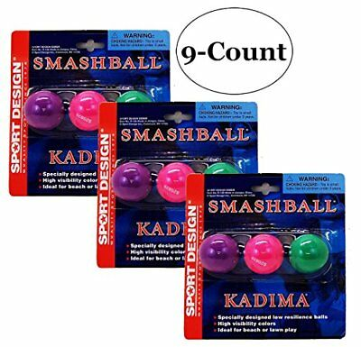 Sport Design Replacement Beach Balls for Beachball Smashball Kadima Watercolors,