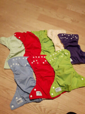 Fuzzibunz cloth nappies Size small