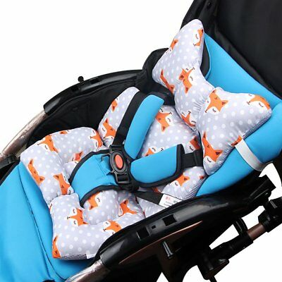 Dual Sided Use Baby Stroller Seat Cushion Breathable Infant Baby Cushion NS