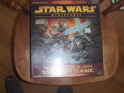 NEW unopened   Star Wars Miniatures Revenge of the Sith Starter Game SEALED