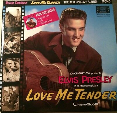 ELVIS PRESLEY LOVE ME TENDER alternatif album pack collector BIGBEAT RECORDS