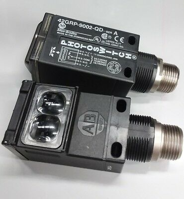 Lot of 2 ea. Allen-Bradley 42GRP-9002-QD Series A  PHOTOSWITCH...NEW