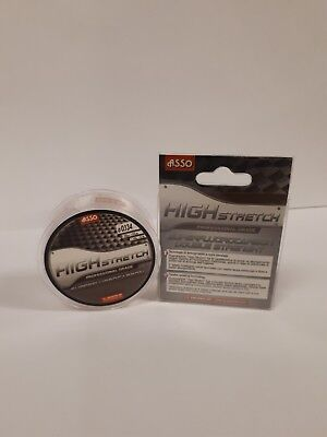 Asso High Stretch Fluorocarbon 50mt 0.134 1.49kg Clear