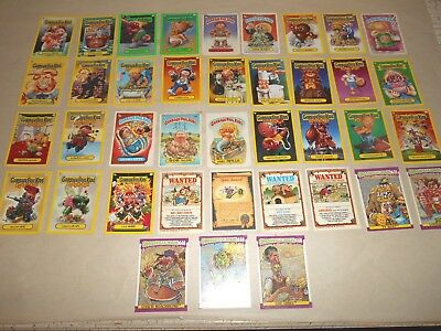 39 Collector Card Lot 30 Garbage Pail Kids 5 Grossville High 4 Misc