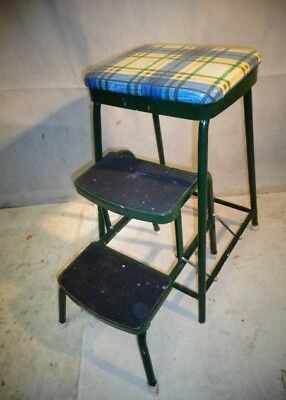 Fabulous Vintage Folding Kitchen Steps Stool 27 00 Picclick Uk Gmtry Best Dining Table And Chair Ideas Images Gmtryco
