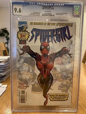 Amazing Spidergirl Cgc 9.6 Marvel