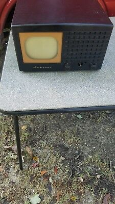 early vintage admiral tv