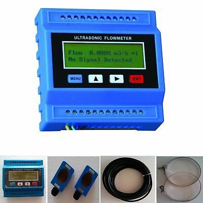 TUF-2000M-TM-1 Ultrasonic Flow Meter Flowmeter (DN50~DN700mm) Water Meter AO