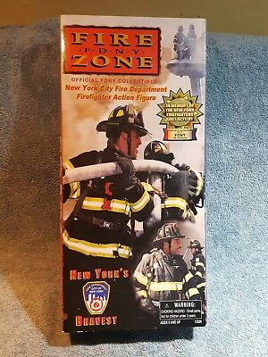Fire Zone Fire Fighter Real Hero's FDNY Action Figure