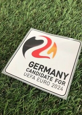 Candidate For Euro 2024 EM Bewerbungspatch Trikot Ärmelpatch