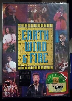 EARTH, WIND & FIRE: LIVE - DVD NUOVO Tour 1994