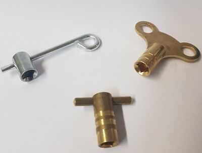 3 Different Radiator Bleed Keys Each With It Own Advantage Air Venting Key Tools