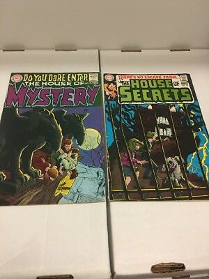 Key Dc Horror! First Cain And Abel! House Of Mystery 175, House Of Secrets 81!