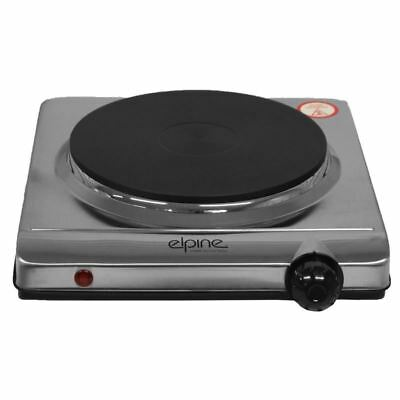 Camping Home 1500w Electric Portable Stainless Steel Iron Hotplate Cooking Hob