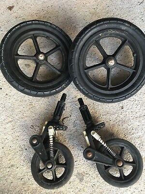 Bugaboo Cameleon 2 Front Wheels & 2 Back Wheels SPARES BUNDLE