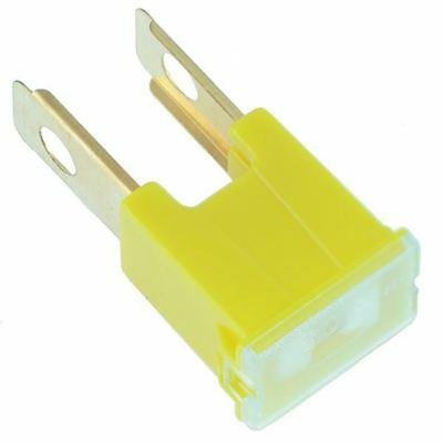 10 x 60A Yellow Male PAL Fuse Japanese Car