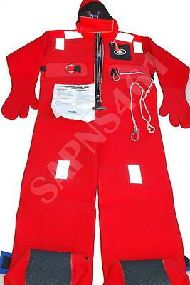 IMPERIAL REDNINGSDRAKT 1409-N  Immersion Suit **NORWAY APPROVAL* *Free Shipping*