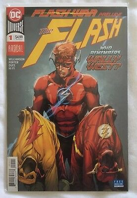 Flash Annual #1 (Flash War Prelude). First Print. New. Unread.