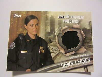 The Walking Dead: Evolution, Dawn Lerner Relic Card, 2017, Topps, Costume Card