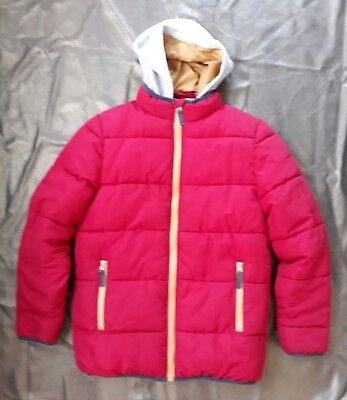 Peter Storm Boys Puffa Jacket-age 13yrs-Red /removable hood/inside pocket.