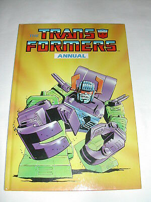 Marvel Transformers Annual 1988 Unclipped, Great Condition Scorpinok Cover