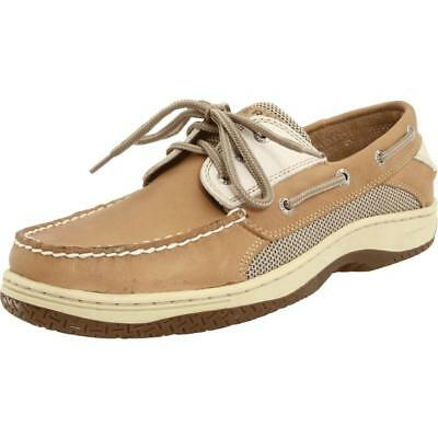 Sperry Top-Sider Billfish 3 eye Mens Tan/beige Boat Shoes