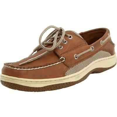 Sperry Top-Sider Billfish 3 eye Mens Dark tan Boat Shoes