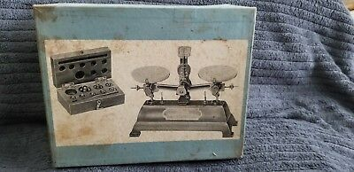 Vintage Compass Instrument and Optical Co. Beam Scale Original Box 1950's