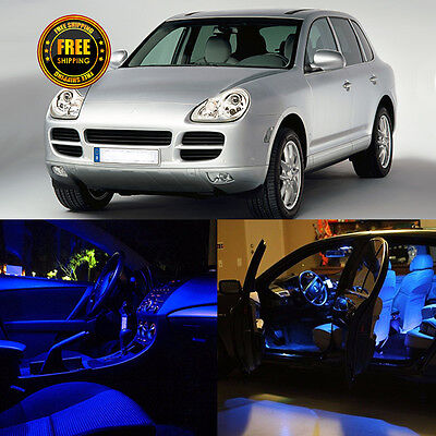 23x Canbus Blue Package Bulbs Interior LED Kit For Porsche Cayenne 955 03-06