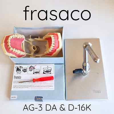 frasaco AG-3 DA Standard Restorative Typodont & D-16 K Hinged Support for ORE