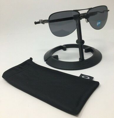 c1d18cdd03b Authentic OAKLEY Sunglasses Tailpin Gunmetal Frame Gray Lens Polarized