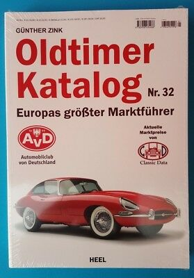 AVD Oldtimer Katalog Nr.32    2018   in Folie  ungelesen 1A absolut TOP