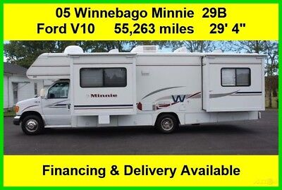 2005 Winnebago Minnie Used Class C Motor Home Coach Motorhome Ford RV MH 29'