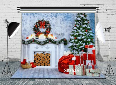 8x8ft Vinyl Photography Background Backdrop Christmas Photo Studio Props SDX625