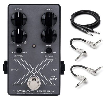 New Darkglass Microtubes X Bass Distortion Pedal!