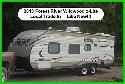 2018 Forest River Wildwood X-Lite Travel trailer Bumper Pull Camper Used Towable