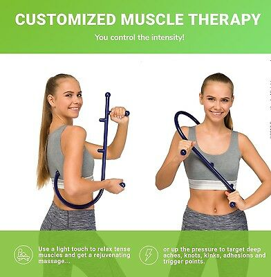 Supportiback® Patented Orthopedic Trigger Point Self Massager for Instant Back P